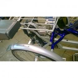 Opaska zaciskowa (trytytka) - rower z silnikiem