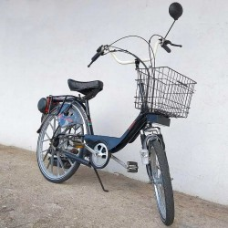 Rabbit amortyzowany - rower z silnikiem spalinowym Sachs 301A