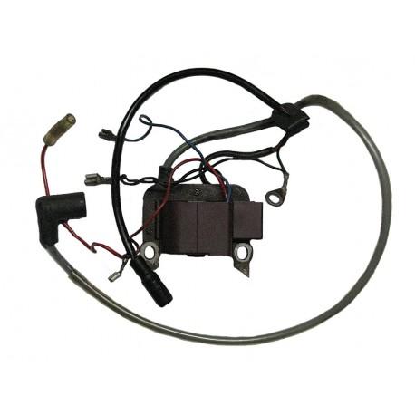 Cewka zapłonowa (elektrostart)  - rower z silnikiem Sachs 301A