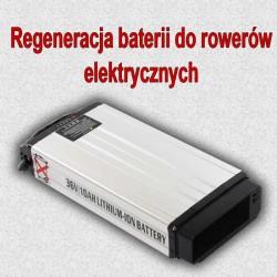 Regeneracja baterii do rowerów elektrycznych