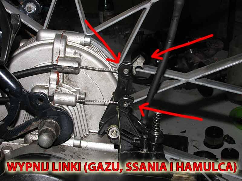 Gaźnik do rowerów z silnikiem Sachs 301A
