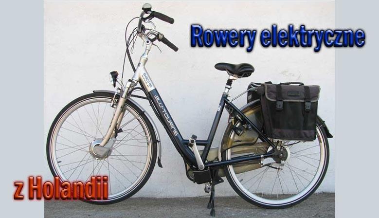 Holenderski rowey elektryczne