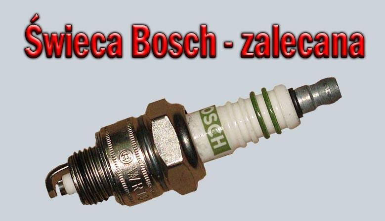 Świeca Bosch do rowerów z silnikiem Sachs 301A