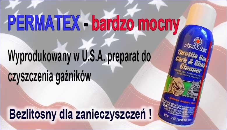 Permatex - preparat do mycia gaźników